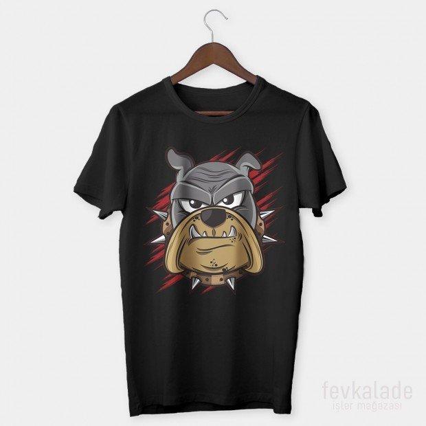 Crazy Dog Özel Tasarım Unisex T Shirt