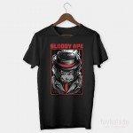 Bloody Ape Özel Tasarım Unisex T Shirt