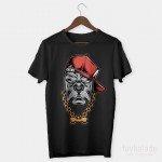 Bone Pitbul Özel Tasarım Unisex T Shirt
