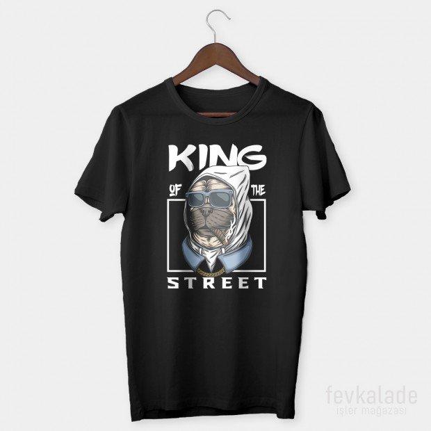 King Dog Özel Tasarım Unisex T Shirt