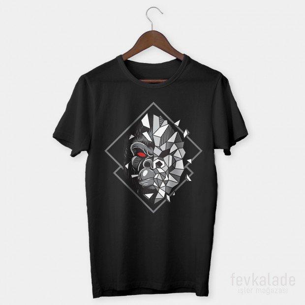 Terminator Ape Özel Tasarım Unisex T Shirt