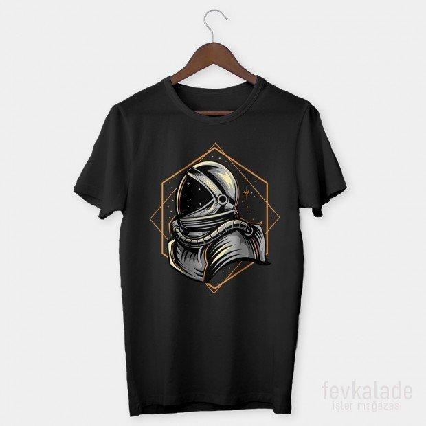 Space Line Özel Tasarım Unisex T Shirt