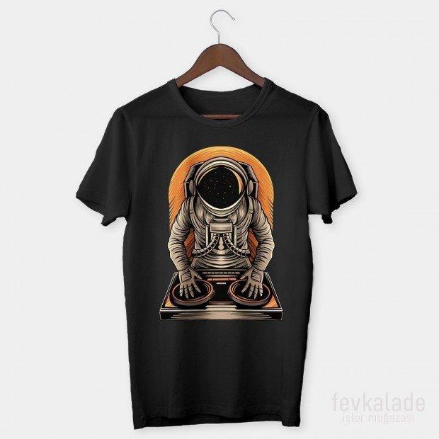 Space DJ Özel Tasarım Unisex T Shirt