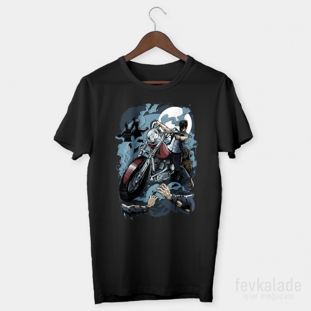Blue Rider Özel Tasarım Unisex T Shirt
